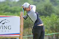 Giulia Molinaro (ITA) watches her tee shot on 9 during round 2 of  the Volunteers of America Texas Shootout Presented by JTBC, at the Las Colinas Country Club in Irving, Texas, USA. 4/28/2017.<br /> Picture: Golffile | Ken Murray<br /> <br /> <br /> All photo usage must carry mandatory copyright credit (&copy; Golffile | Ken Murray)