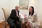 ISPS Handa Wales Open 2012.Terry M's Restaurant Opening.Richard Corkhill & Natalie Rosato.01.06.12.©Steve Pope