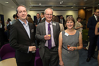 Pictured from left are Mark Didmon, Richard Bassett and Charlotte Crowhurst, all from Potter Clarkson