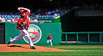 29 August 2010: Washington Nationals pitcher John Lannan on the mound against the St. Louis Cardinals at Nationals Park in Washington, DC. The Nationals defeated the Cards 4-2 to take the final game of their 4-game series. Mandatory Credit: Ed Wolfstein Photo
