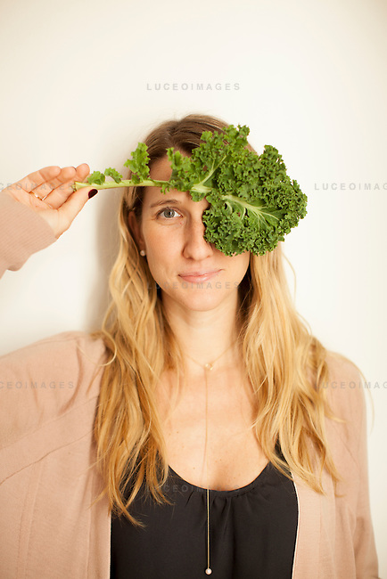 Kristen Beddard, 29, of The Kale Project, in Paris, France.  Kevin German / Luceo