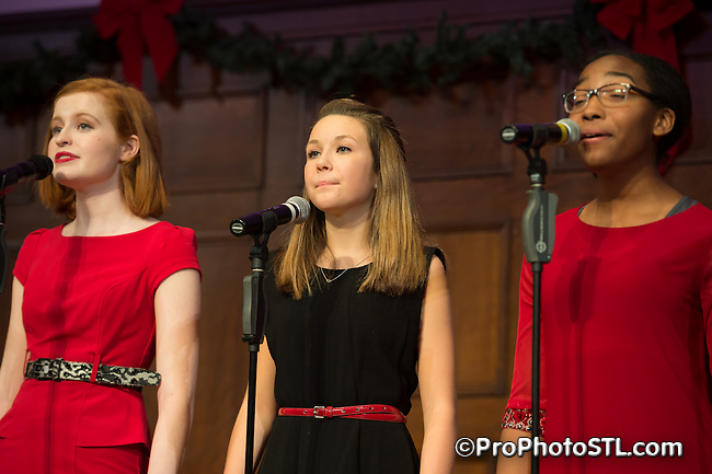 Team STAGES in a capella concert at The Sheldon in St. Louis on Dec 3, 2014.