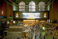 - New York, entrance hall of the Grand Central Station....- New York, atrio della Grand Central Station