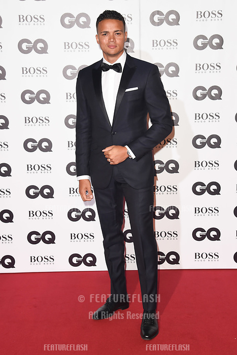 LONDON, UK. September 05, 2018: Jermaine Jenas at the GQ Men of the Year Awards 2018 at the Tate Modern, London