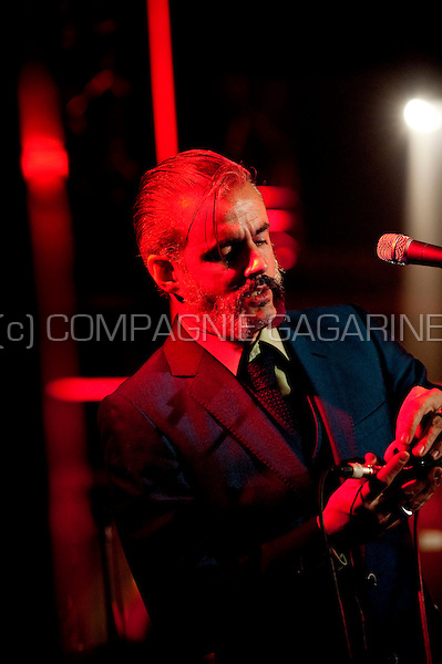 Concert of the Belgian band Triggerfinger in the Amerikaans Theater, Brussels (Belgium, 25/11/2011)