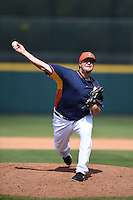Houston Astros pitcher Matt Albers (37) during a spring training game against the Miami Marlins on March 21, 2014 at Osceola County Stadium in Kissimmee, Florida.  Miami defeated Houston 7-2.  (Mike Janes/Four Seam Images)