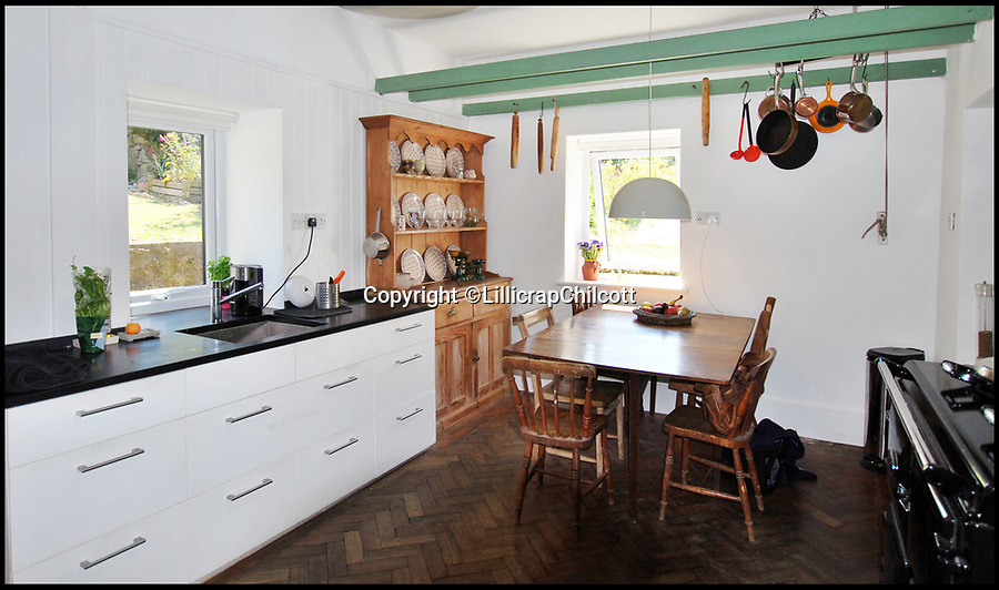 BNPS.co.uk (01202 558833)Pic: LillicrapChilcott/BNPS<br /> <br /> Writers' retreat...<br /> <br /> A pretty Cornish cottage that was rented by DH Lawrence during the war and owned by Michael Morpurgo when he wrote War Horse is now on the market for £750,000.<br /> <br /> The two writers had very different experiences in the village of Zennor on the north Cornish coast as Lawrence was accused of spying for the Germans and eventually exiled from the county while Morpurgo's summers there over eight years were considerably quieter.<br /> <br /> But both men used the location as inspiration in their writing, making Tower House the perfect place for wannabe writers looking to escape to the coast.<br /> <br /> The granite home has been in the current owners' hands for the last 25 years but it is now on the market with estate agents Lillicrap Chilcott.