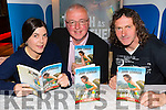 Claire O'Leary, Con Dennehy, John Lennihan,   at the Book Launch of Tough as Leather John Lenihan at Gallys Bar on Friday