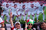 Soccer fans of Iran show supports for their team during the AFC Asian Cup UAE 2019 Group D match between Vietnam (VIE) and I.R. Iran (IRN) at Al Nahyan Stadium on 12 January 2019 in Abu Dhabi, United Arab Emirates. Photo by Marcio Rodrigo Machado / Power Sport Images