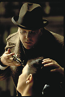 Dark City (1998)<br /> Kiefer Sutherland<br /> *Filmstill - Editorial Use Only*<br /> CAP/KFS<br /> Image supplied by Capital Pictures