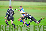 Eoin Murphy goes in for Tralee 2nd try against Cobh's at O'Dowd park, Tralee on Sunday.