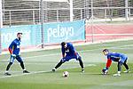 Spain's David De Gea, Sergio Rico and Kepa Arrizabalaga during training session. March 22,2017.(ALTERPHOTOS/Acero)