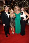 James and Courtney Goldstein, Nancy Schwartzman, and Sheryl Goldstein at Camelot at the Magical Village, Las Vegas, NV, November 6, 2010© Al Powers, VEGAS Magazine