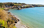 Attractive coastal village of Glandore, County Cork, Ireland