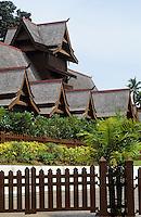 Asie/Malaisie/Malacca: Le palais des Sultans (Musée)