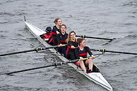 Crew: 337  Kings College Sch  Event: Girls Fours<br /> <br /> Schools' Head of the River 2017<br /> <br /> To purchase this photo, or to see pricing information for Prints and Downloads, click the blue 'Add to Cart' button at the top-right of the page.