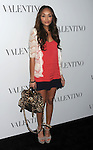 HOLLYWOOD, CA - MARCH 27: Ashley Madekwe arrives at the Valentino 50th Anniversary And New Flagship Store Opening On Rodeo Drive at Valentino Boutique on March 27, 2012 in Beverly Hills, California.