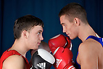 Pix: Shaun Flannery/shaunflanneryphotography.com...COPYRIGHT PICTURE>>SHAUN FLANNERY>01302-570814>>07778315553>>..27th October 2010............GB Boxing, English Institute of Sport, Sheffield..Fred Evans and Bradley Saunders.