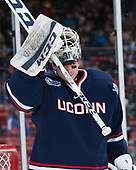 Adam Huska (UConn - 30) - The University of Maine Black Bears defeated the University of Connecticut Huskies 4-0 at Fenway Park on Saturday, January 14, 2017, in Boston, Massachusetts.