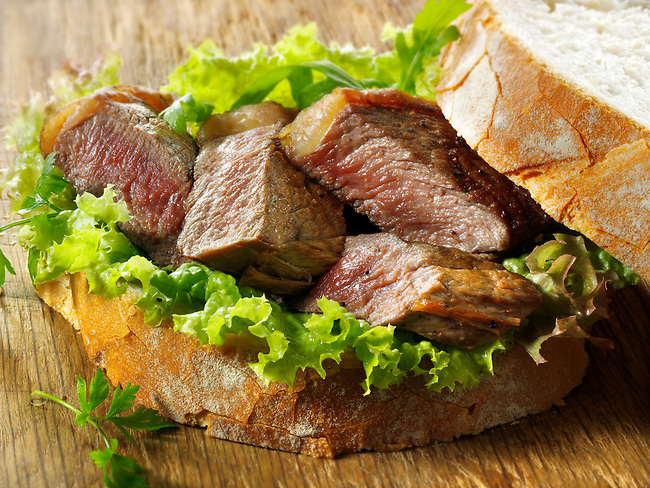 Sirloin Steak sandwich