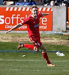 Brechin's Robert Thomson celebrates his goal
