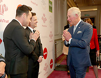 11/03/2020 - Anthony Ant McPartlin and Declan Dec Donnelly and Prince Charles at The Princes Trust Awards 2020 At The London Palladium. Photo Credit: ALPR/AdMedia