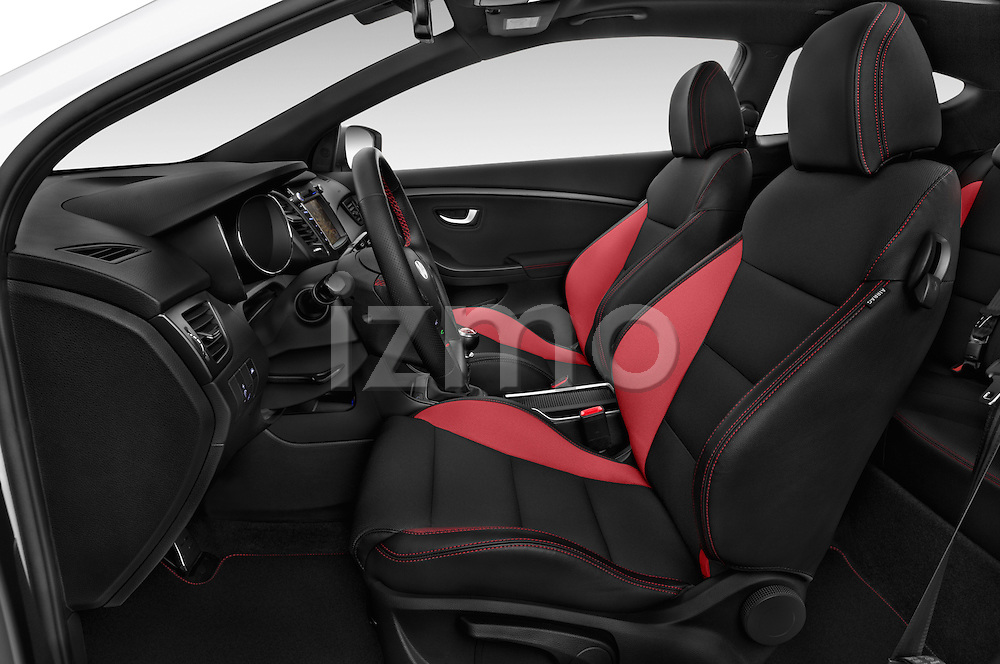 Front seat view of 2015 Hyundai I30 Turbo 3 Door Hatchback front seat car photos