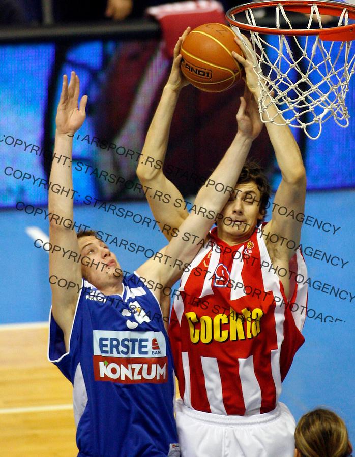 Elmedin Kikanovic Sport Kosarka NLB JAdranska Liga Crvena Zvezda Zadar 6.12.2008. photo: Pedja Milosavljevic