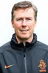 Nederland, Hoenderloo, 31 mei 2012.Persdag Nederlands Elftal.Egid Kiesouw, fysieke trainer van Nederland