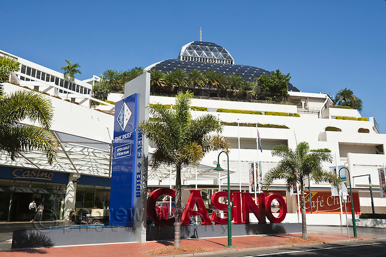 The Reef Hotel Casino. Cairns, Queensland, Australia