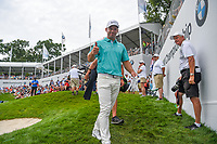 Paul Casey (GBR) gives a thumbs up as he heads for the tee on 18 during Rd4 of the 2019 BMW Championship, Medinah Golf Club, Chicago, Illinois, USA. 8/18/2019.<br /> Picture Ken Murray / Golffile.ie<br /> <br /> All photo usage must carry mandatory copyright credit (© Golffile | Ken Murray)