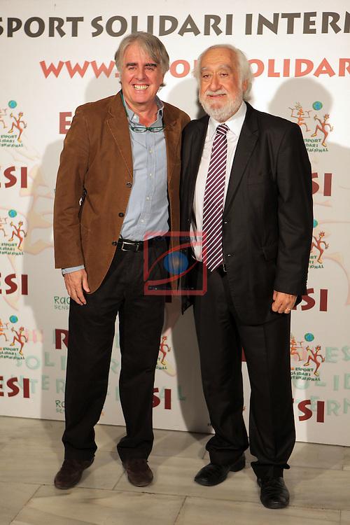 XIe Sopar Solidari d'ESI (Esport Solidari Internacional).<br /> Josep Maldonado &amp; Siro Lopez.