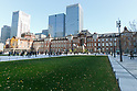New public square in front of Tokyo Station
