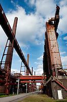 The Zollverein Coal Mine Industrial Complex in Essen (Germany, 02/04/2010)
