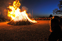 Valborg / Walpurgis Night celebrations at Skansen