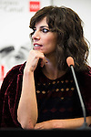 """Maribel Verdu during the press conference of the presentation of the theater play """"Invencible"""" at Teatros del Canal in Madrid. October 24, 2016. (ALTERPHOTOS/Borja B.Hojas)"""