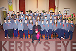 The fifth and sixth class pupils of Tarbert National School pictured with Bishop Bill Murphy after their confirmation in St Mary's Church, Tarbert, on Tuesday, March 3rd.