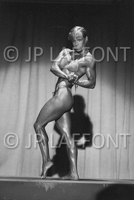 June 20th 1981, New York, USA<br /> Competitor, Ms. Empire State competition.