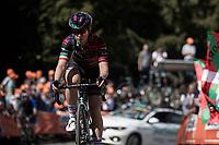 Elena Cecchini (ITA/Canyon - Sram Racing) up the infamous Mur de Huy<br /> <br /> 22nd la Flèche Wallonne Féminin 2019 (1.WWT)<br /> 1 Day Race: Huy – Huy 118,5km<br /> women's elite race<br /> <br /> ©kramon