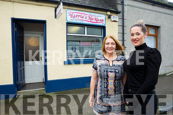 Kerry Dore of Kerrie's Ko Ko and Philomena Doherty Beauty Therapy.