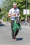09.05.2018, Weserstadion, Bremen, GER, 1.FBL, Training SV Werder Bremen<br /> <br /> im Bild<br /> Ishak Belfodil (Werder Bremen #29) nach dem Training, <br /> <br /> Foto &copy; nordphoto / Ewert