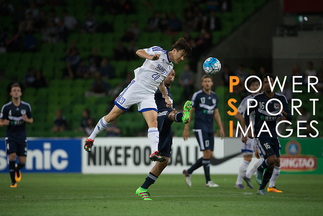 MELBOURNE VICTORY (AUS) vs SUWON SAMSUNG BLUEWINGS (KOR) during the 2016 AFC Champions League Group G Match Day 3 match on 15 March 2016 at the Melbourne Rectangular Stadium in Melbourne, Australia. Photo by Stringer / Lagardere Sports