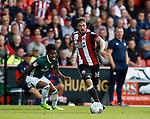 Kieron Freeman of Sheffield Utd in action during the English Championship League match at Bramall Lane Stadium, Sheffield. Picture date: August 5th 2017. Pic credit should read: Simon Bellis/Sportimage