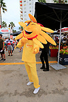 Cofidis mascot in the Vuelta Village before the start of Stage 4 of La Vuelta 2019 running 175.5km from Cullera to El Puig, Spain. 27th August 2019.<br /> Picture: Eoin Clarke | Cyclefile<br /> <br /> All photos usage must carry mandatory copyright credit (© Cyclefile | Eoin Clarke)