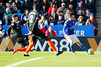 1st February 2020; King Power Stadium, Leicester, Midlands, England; English Premier League Football, Leicester City versus Chelsea; Ben Chilwell of Leicester City shoots for his team's second goal after 64 minutes (2-1)