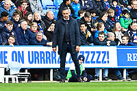 Reading Manager Jose Gomes watches on during Reading vs Wigan Athletic, Sky Bet EFL Championship Football at the Madejski Stadium on 9th March 2019