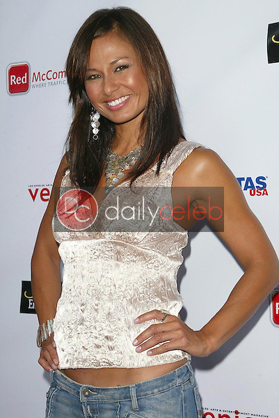 Kimberly Estrada<br />at the premiere screening of &quot;Shut Up and Shoot!&quot;. Fine Arts Theater, Beverly Hills, CA. 06-27-06<br />Jason Kirk/DailyCeleb.com 818-249-4998