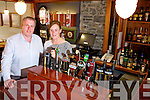 Kevin Cotter and Fiona Kirby at the Brogue Inn and plan to reopen in July.