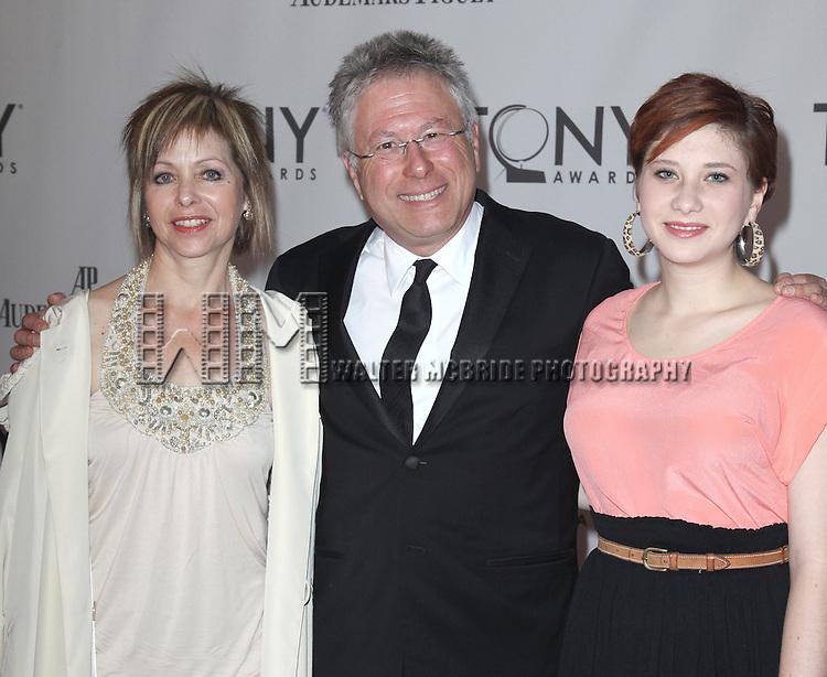 Alan Menken.attending The 65th Annual Tony Awards in New York City.