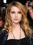 Emma Roberts. at The Summit Entertainment's World Premiere of THE TWILIGHT SAGA: NEW MOON held at The Mann's Village Theatre in Westwood, California on November 16,2009                                                                   Copyright 2009 DVS / RockinExposures